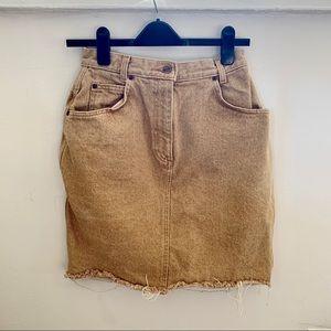 Lands End Vintage denim skirt